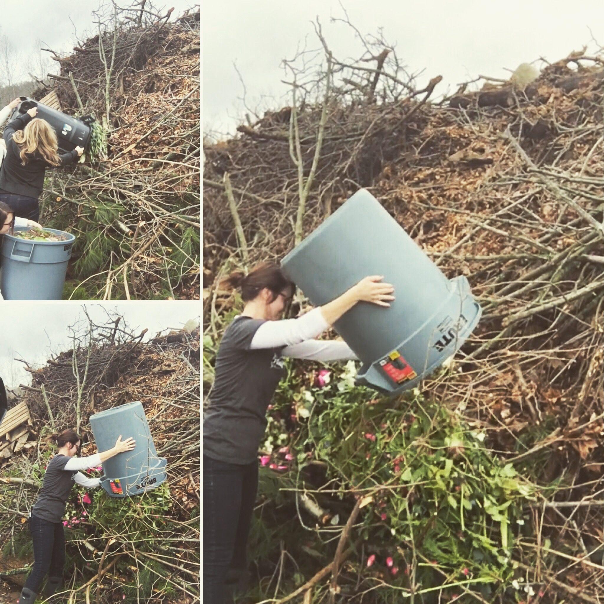 composting florist, greener florist