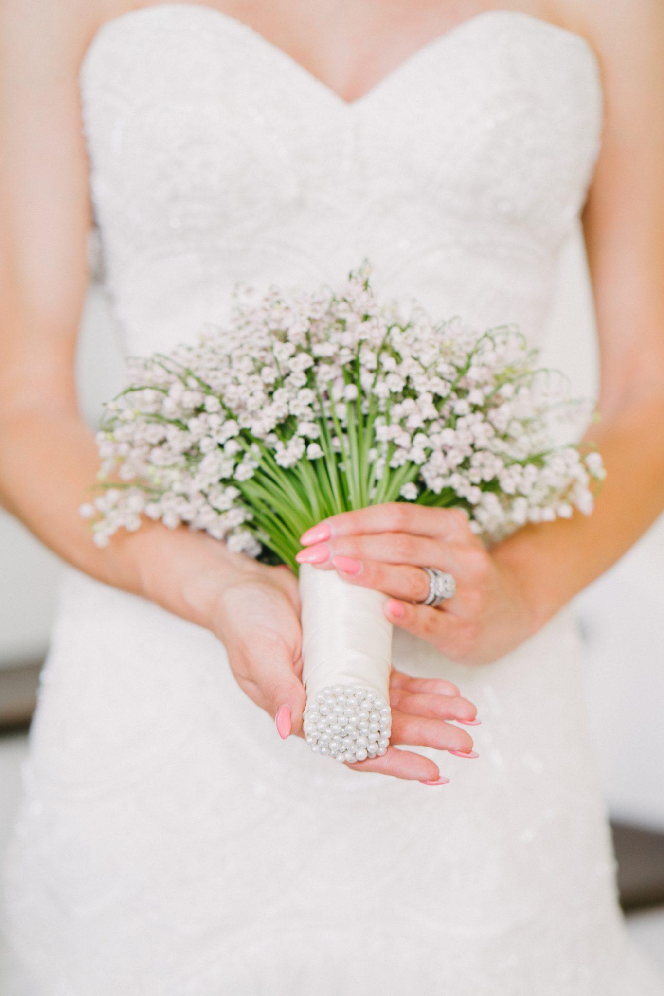 Lilly_of_the_Valley_Bridal_Bouquet, Dayton_Ohio_wedding_flowers, Royal_Wedding_bridal_bouquet