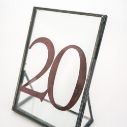 Table Number Sign for Rent