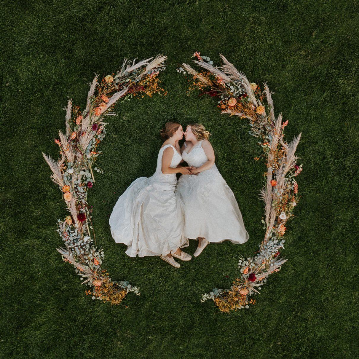 lgbt-wedding, same-sex-wedding, lgbtq-wedding, two-brides, two-brides-are-better-than-one, gay-wedding, lesbian-wedding