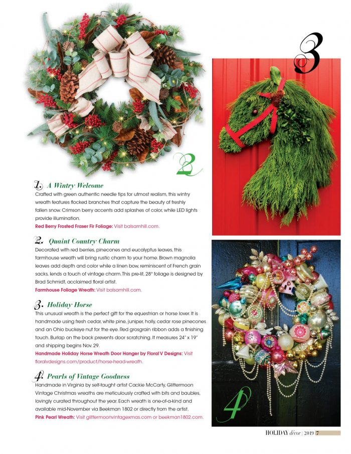 horse_head_wreath_door_hangar_equine_holiday_christmas_gift